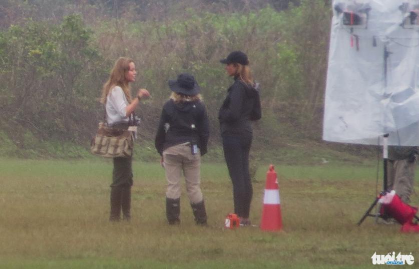 The actress Brie Larson at Quang Binh