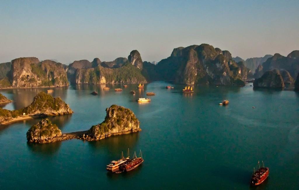 Halong Bay Landscape in Kong: Skull Island