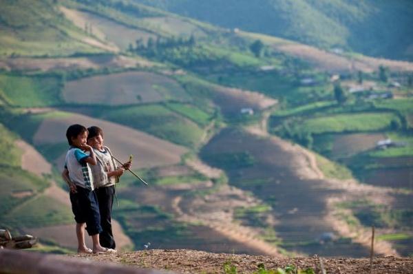 khau pha pass, mu cang chai, vietnam