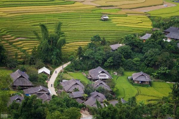 thai village, mu cang chai