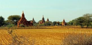 temples in bagan in myanmar