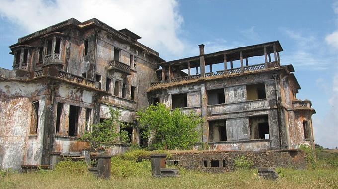 Bokor Palacein Cambodia
