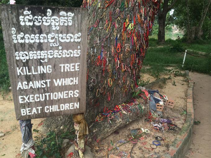 Choeung Ek Killing Field, Cambodia