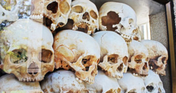Choeung Ek Killing Field in Cambodia