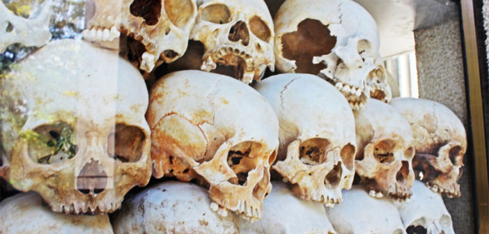 Choeung Ek Killing Field in Cambodia