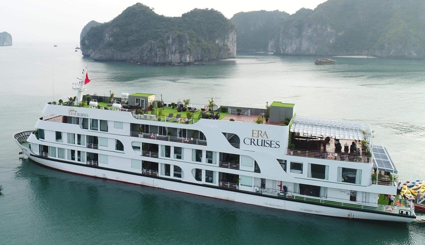 Era Cruise in Lan Ha Bay Vietnam